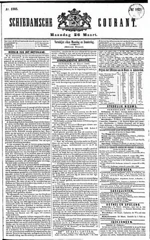 Schiedamsche Courant 1866-03-26