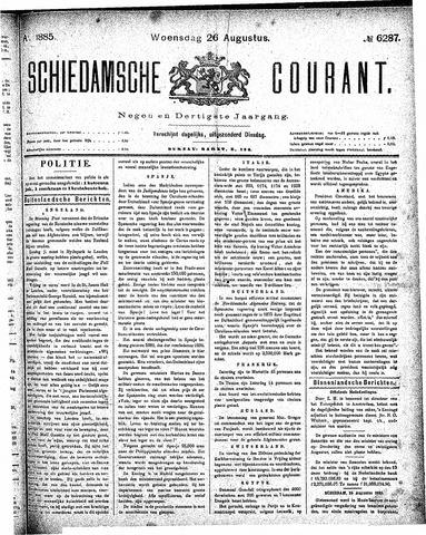 Schiedamsche Courant 1885-08-26