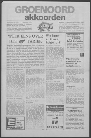 Groenoord Akkoorden 1972-08-02
