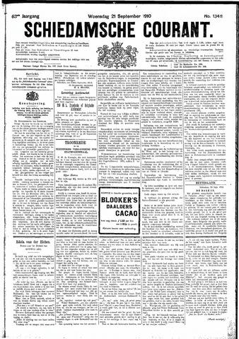 Schiedamsche Courant 1910-09-21