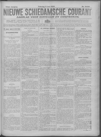 Nieuwe Schiedamsche Courant 1929-06-08
