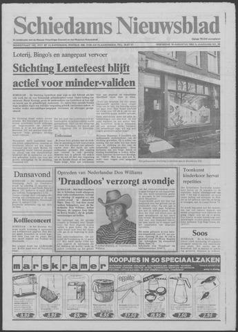 Schiedams Nieuwsblad 1982-08-18