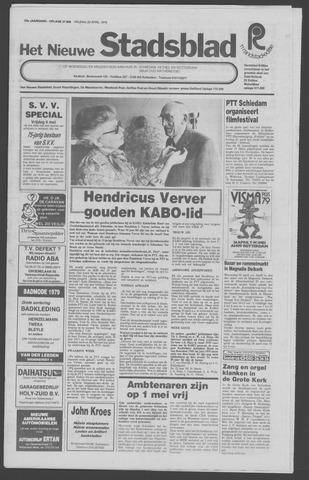 Het Nieuwe Stadsblad 1979-04-20