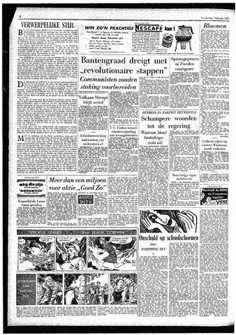 Rotterdamsch Parool / De Schiedammer 1957-02-07