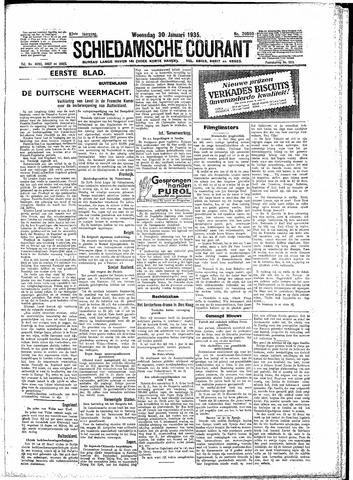 Schiedamsche Courant 1935-01-30