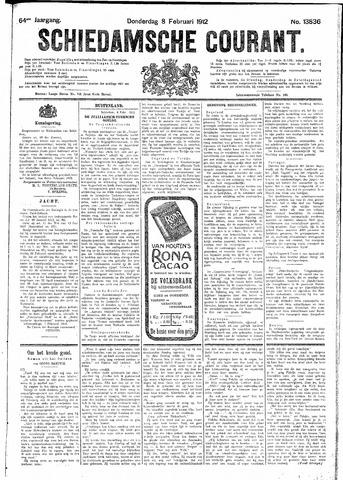 Schiedamsche Courant 1912-02-08