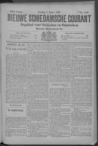 Nieuwe Schiedamsche Courant 1897-03-07