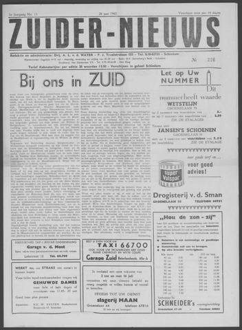 Zuider Nieuws 1962-06-28