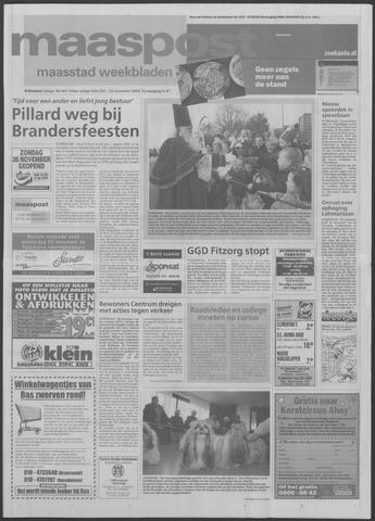 Maaspost / Maasstad / Maasstad Pers 2000-11-22