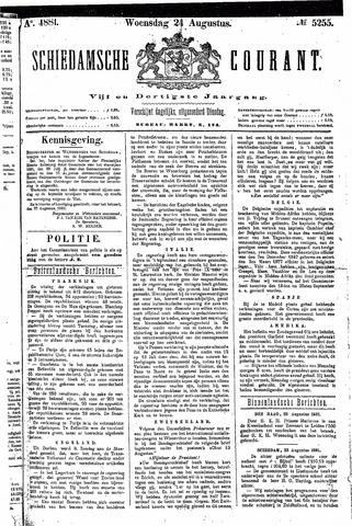 Schiedamsche Courant 1881-08-24
