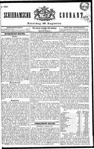 Schiedamsche Courant 1851-08-16