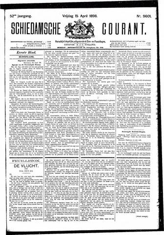 Schiedamsche Courant 1898-04-15