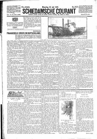 Schiedamsche Courant 1931-07-13