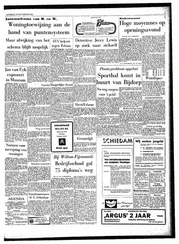 Rotterdamsch Parool / De Schiedammer 1963-09-28
