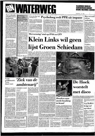 Rotterdamsch Nieuwsblad / Schiedamsche Courant / Rotterdams Dagblad / Waterweg / Algemeen Dagblad 1985-07-01