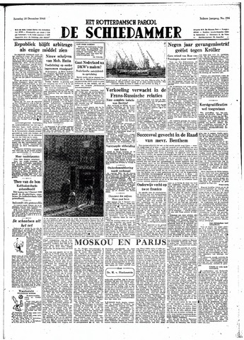Rotterdamsch Parool / De Schiedammer 1948-12-18
