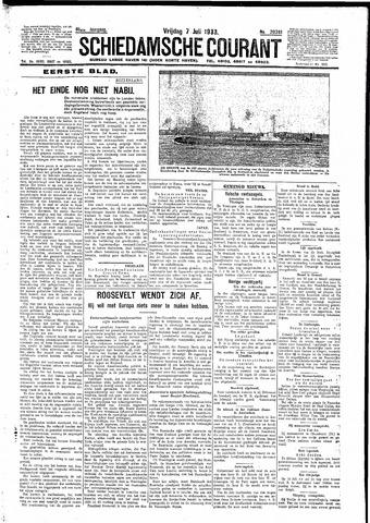 Schiedamsche Courant 1933-07-07