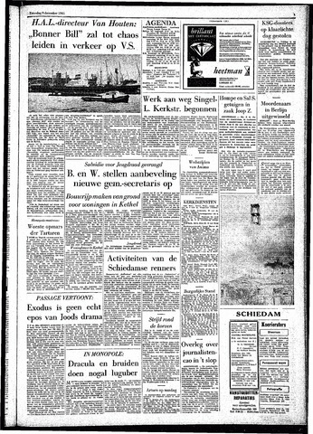 Rotterdamsch Parool / De Schiedammer 1961-12-09
