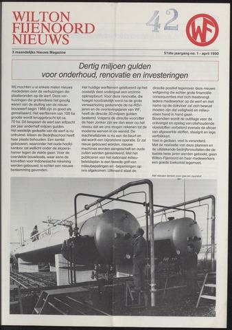 Wilton Fijenoord Nieuws 1990