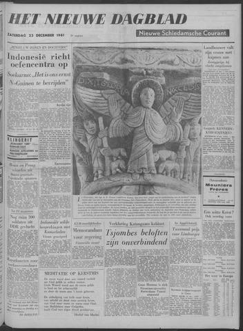 Nieuwe Schiedamsche Courant 1961-12-23