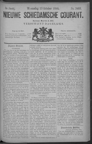 Nieuwe Schiedamsche Courant 1886-10-13