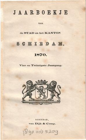 Schiedams Jaarboek 1870-01-01