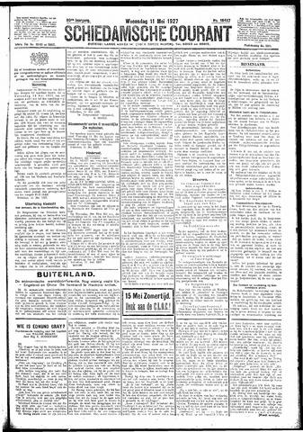 Schiedamsche Courant 1927-05-11