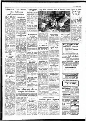 Rotterdamsch Parool / De Schiedammer 1955-07-02