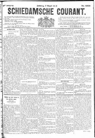 Schiedamsche Courant 1908-03-07