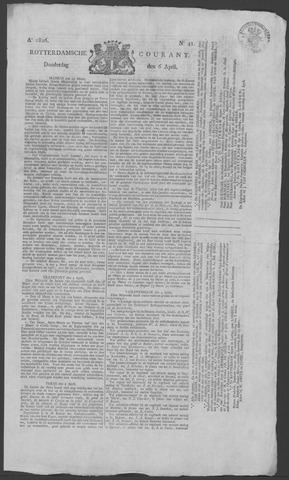 Rotterdamse Courant 1826-04-06