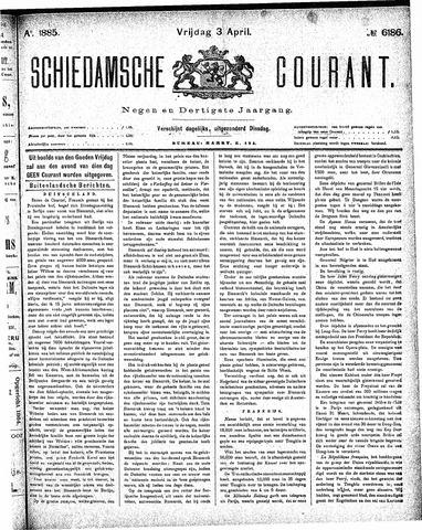 Schiedamsche Courant 1885-04-03