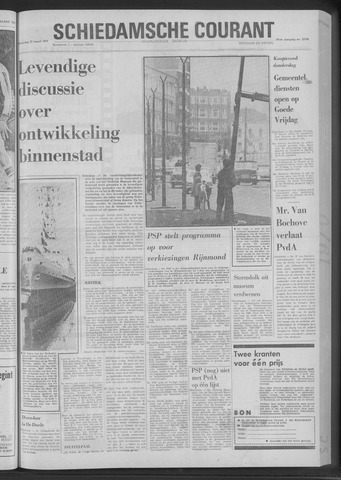 Rotterdamsch Nieuwsblad / Schiedamsche Courant / Rotterdams Dagblad / Waterweg / Algemeen Dagblad 1970-03-25