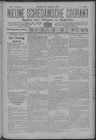 Nieuwe Schiedamsche Courant 1918-08-20