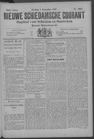 Nieuwe Schiedamsche Courant 1897-12-05