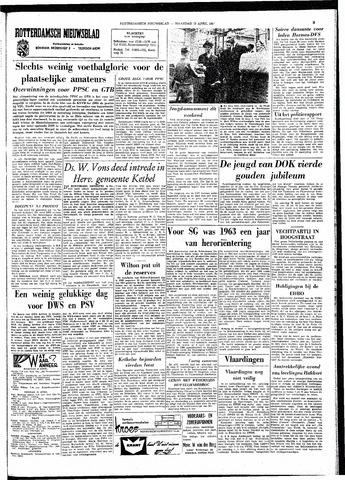 Rotterdamsch Nieuwsblad / Schiedamsche Courant / Rotterdams Dagblad / Waterweg / Algemeen Dagblad 1964-04-13