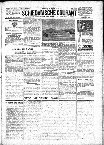Schiedamsche Courant 1935-04-08