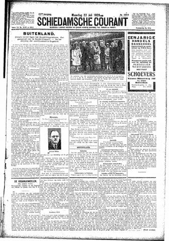 Schiedamsche Courant 1929-07-22