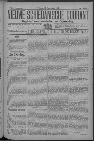 Nieuwe Schiedamsche Courant 1917-08-17