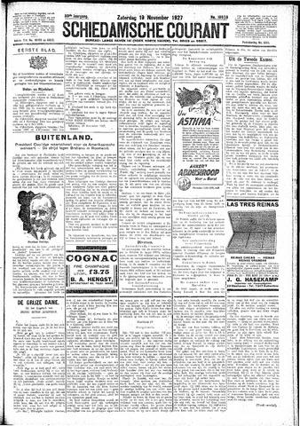 Schiedamsche Courant 1927-11-19