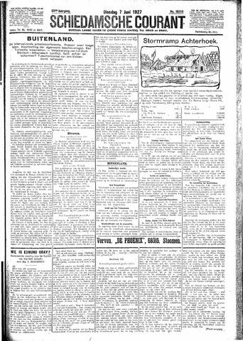 Schiedamsche Courant 1927-06-07
