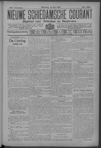 Nieuwe Schiedamsche Courant 1918-05-13