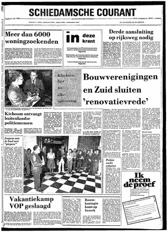 Rotterdamsch Nieuwsblad / Schiedamsche Courant / Rotterdams Dagblad / Waterweg / Algemeen Dagblad 1980-07-08