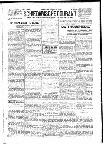 Schiedamsche Courant 1933-09-19