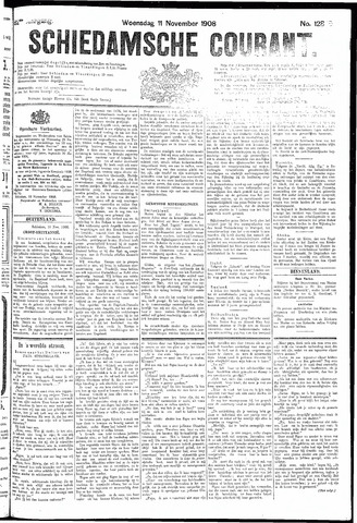 Schiedamsche Courant 1908-11-11