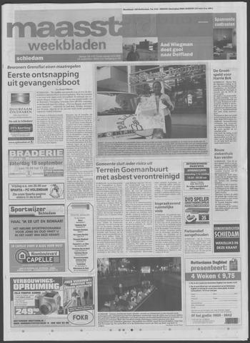 Maaspost / Maasstad / Maasstad Pers 2004-09-15