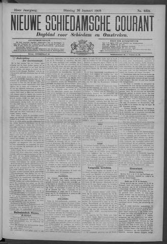 Nieuwe Schiedamsche Courant 1909-01-26