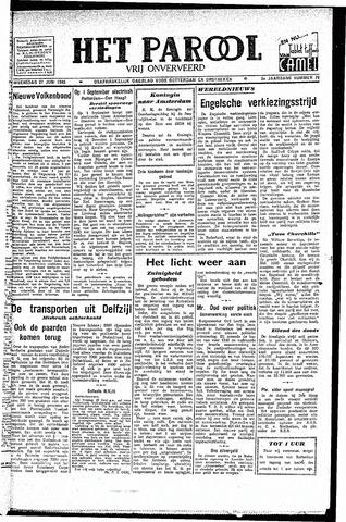 Rotterdamsch Parool / De Schiedammer 1945-06-27