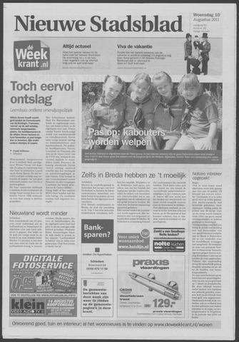 Het Nieuwe Stadsblad 2011-08-10