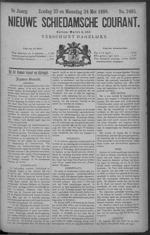 Nieuwe Schiedamsche Courant 1886-05-24