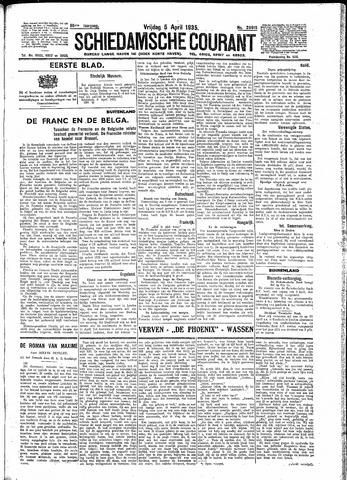 Schiedamsche Courant 1935-04-05